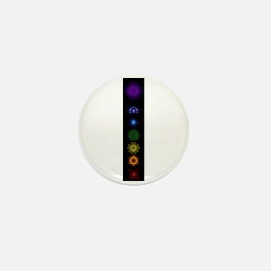 Chakra Symbols Mini Button