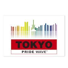 """PRIDE WAVE """"Tokyo"""" Postcards (Package of 8)"""