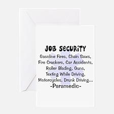 EMT/PARAMEDICS Greeting Card
