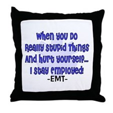 EMT/PARAMEDICS Throw Pillow