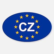 EU Czech Republic Decal