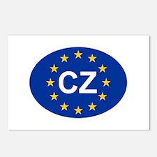 EU Czech Republic Postcards (Package of 8)
