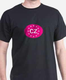 EU Pink Czech Republic T-Shirt