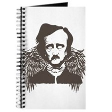 Edgar Poe Goth Crow Journal