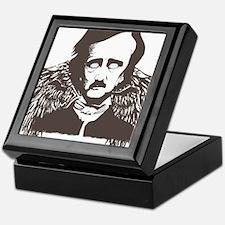 Edgar Poe Goth Crow Keepsake Box