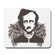 Edgar Poe Goth Crow Mousepad