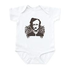 Edgar Poe Goth Crow Infant Bodysuit
