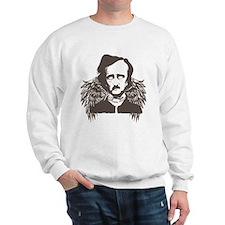 Edgar Poe Goth Crow Sweatshirt