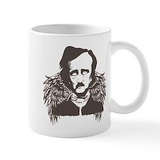 Edgar Poe Goth Crow Mug