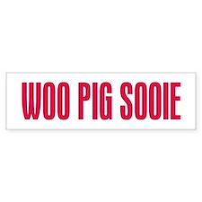 Woo Pig Sooie Bumper Sticker