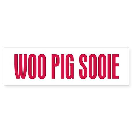 Woo Pig Sooie Sticker (Bumper)