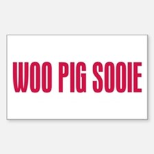 Woo Pig Sooie Sticker (Rectangle)