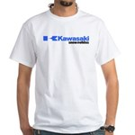 Kawasaki Vintage White T-Shirt