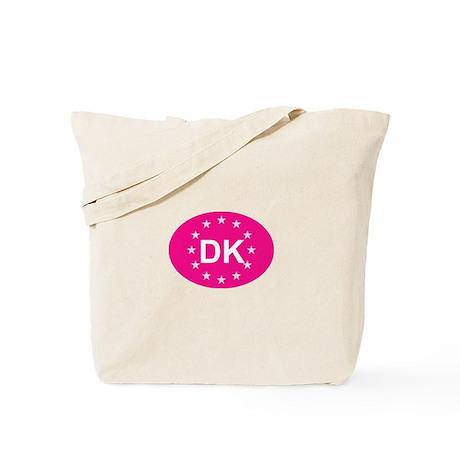 EU Pink Denmark Tote Bag