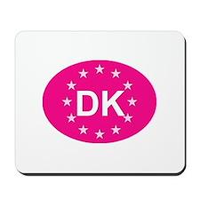 EU Pink Denmark Mousepad