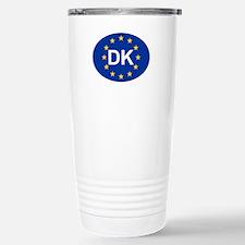 EU Denmark Travel Mug