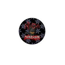 Ninja Assassin Mini Button
