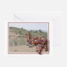 Elephant Card - Blank Greeting Cards (Pk o
