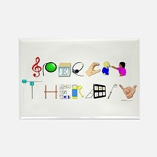 Speech Therapy Rectangle Magnet (10 pack)