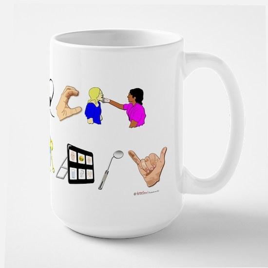 Speech Therapy Large Mug