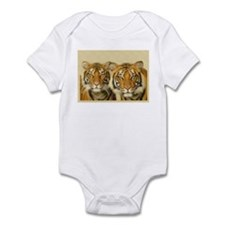 """""""Two Tigers"""" Infant Creeper"""
