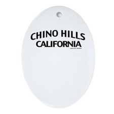 Chino Hills Ornament (Oval)
