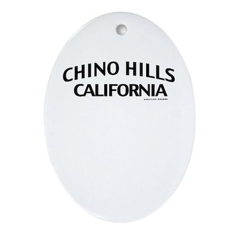 Chino Hills Ornament (Oval)