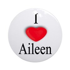 Aileen Ornament (Round)