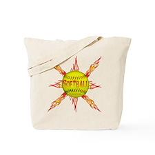 Fire ball Tote Bag