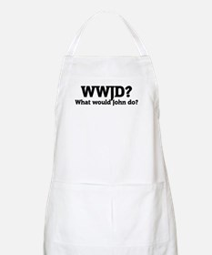 What would John do? BBQ Apron