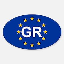EU Greece Decal