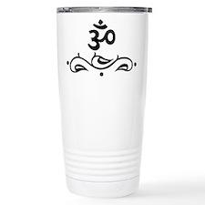 OM - Black Vine Travel Mug