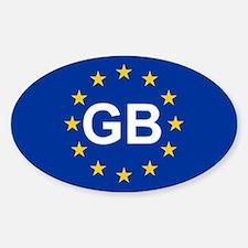 EU UK Decal