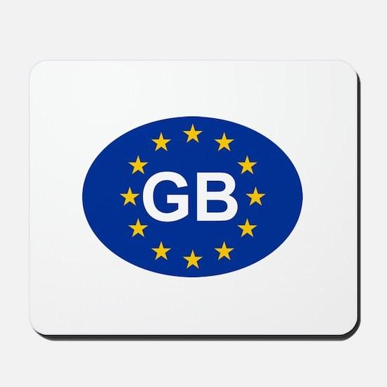 EU UK Mousepad