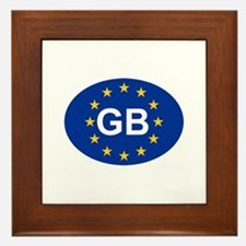 EU UK Framed Tile