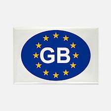 EU UK Rectangle Magnet