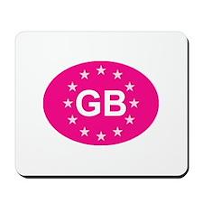 EU Pink UK Mousepad