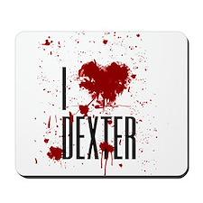 I Heart Dexter Mousepad