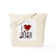I Heart Dexter Tote Bag