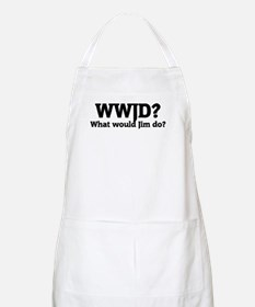What would Jim do? BBQ Apron
