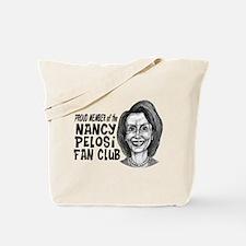 Nancy Pelosi Fan Club Tote Bag