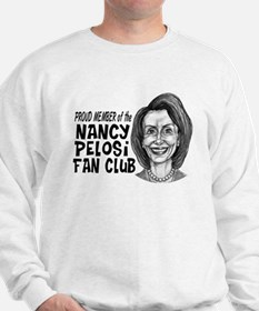Nancy Pelosi Fan Club Sweatshirt