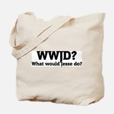 What would Jesse do? Tote Bag