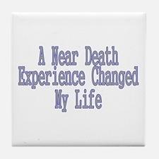 Near Death Experience Tile Coaster