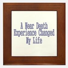 Near Death Experience Framed Tile