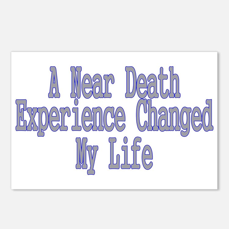 Near Death Experience Postcards (Package of 8)