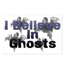 I Believe In Ghosts Postcards (Package of 8)