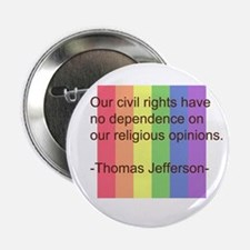 """Funny No on proposition 8 2.25"""" Button"""