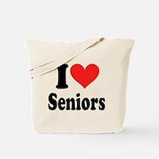 I Heart Seniors: Tote Bag