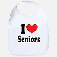 I Heart Seniors: Bib